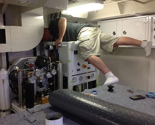 Compressor-install